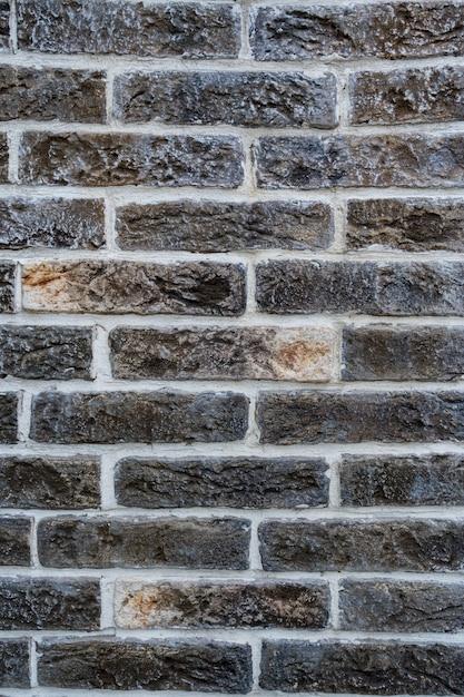 Кирпичная стена. текстура серого кирпича с белой заливкой Бесплатные Фотографии