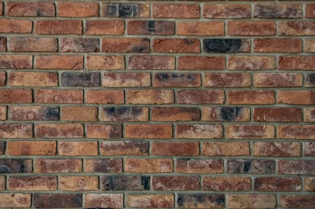 Muro di mattoni. texture di mattoni rossi con ripieno grigio Foto Gratuite