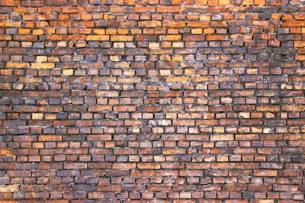 Brickwork retro background for design, texture stone wall