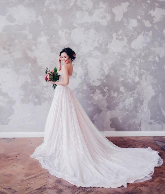 Bride.young fashion model Premium Photo