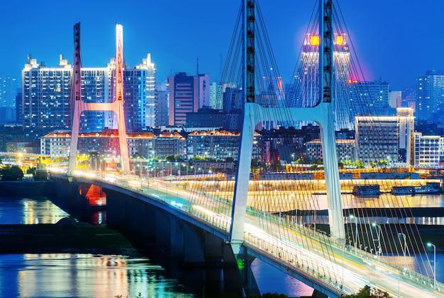 Bridge night Premium Photo