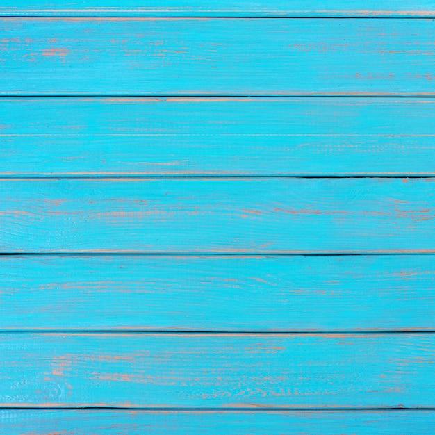 Bright blue wood background summer beach deck Free Photo