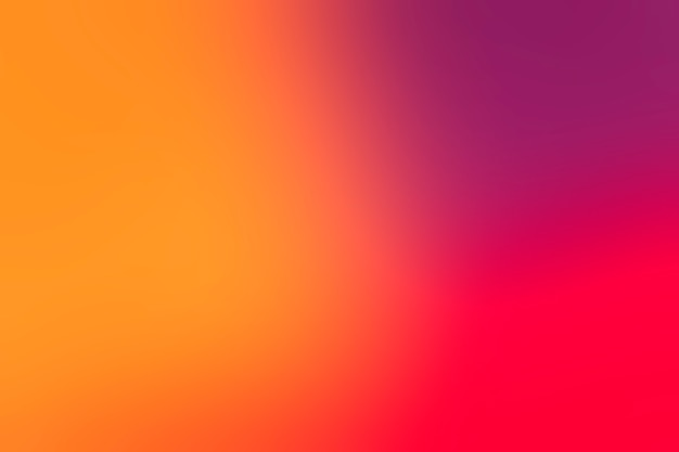 Bright colors arrayed in gradient Free Photo