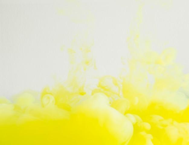 Bright and dense yellow cloud Free Photo