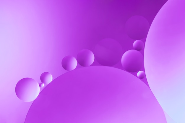 Bright purple abstract background with bubbles Free Photo