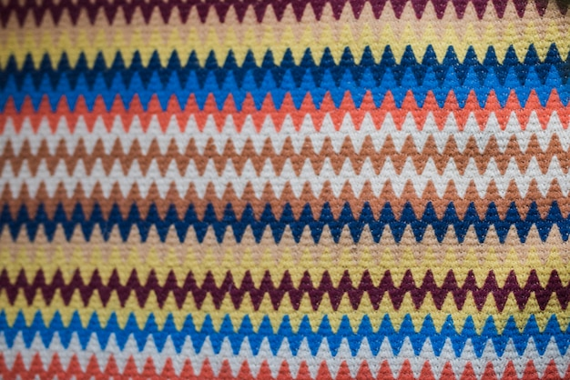 Bright textile with abstract pattern Free Photo