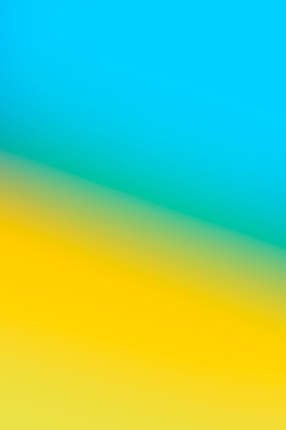Bright yellow and blue in gradient Free Photo