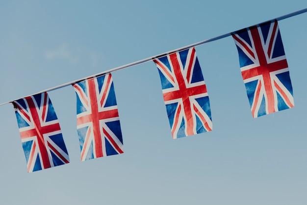 British flag national sign concept Premium Photo