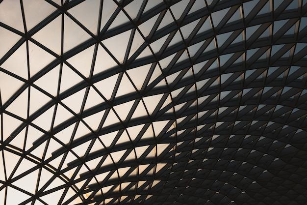 Британский музей вечером в районе блумсбери в лондоне, великобритания. Бесплатные Фотографии