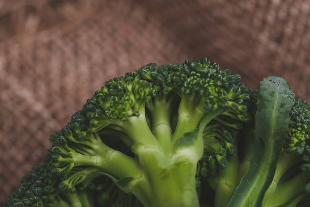 Broccoli on the table Free Photo