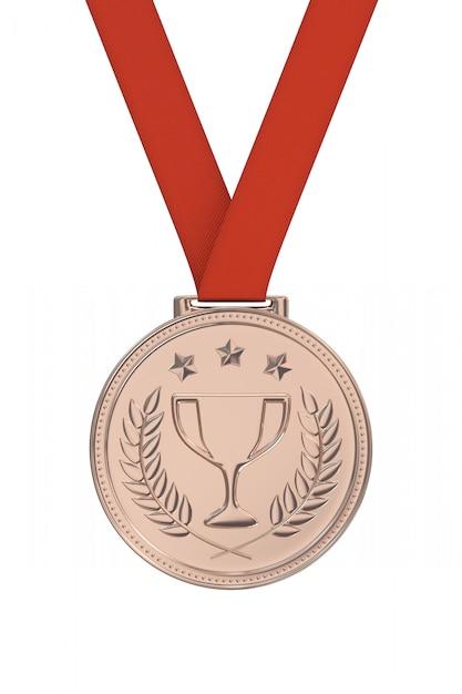 Bronze medal Premium Photo