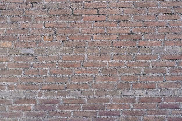 Priorità bassa del muro di mattoni marrone. sfondo muro di mattoni Foto Gratuite