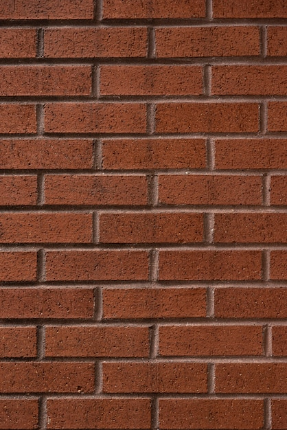 Brown bricks wall background Free Photo