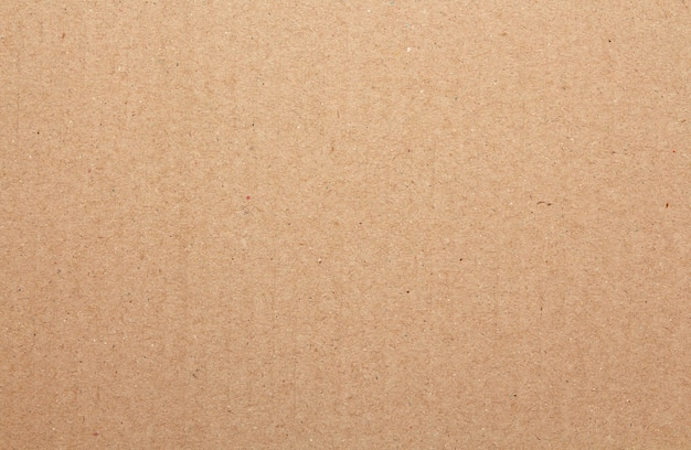Brown cardboard sheet abstract background, texture of recycle paper box in old vintage Premium Photo