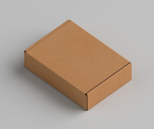 갈색 복사 공간 골 판지 상자 무료 사진