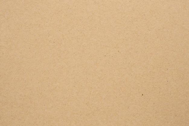 Коричневый эко переработанный крафт-бумага лист текстуры картон фон Premium Фотографии