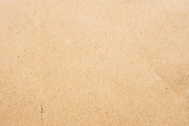 ブラウンエコリサイクルクラフト紙 Premium写真