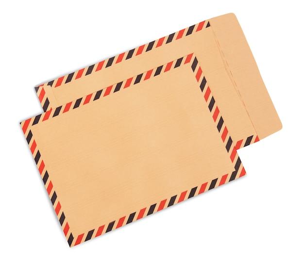 Brown envelopes Premium Photo