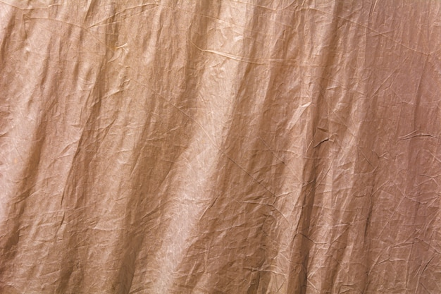 Brown fabric texture as background Premium Photo