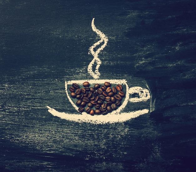 Brown fresh idea white espresso Free Photo