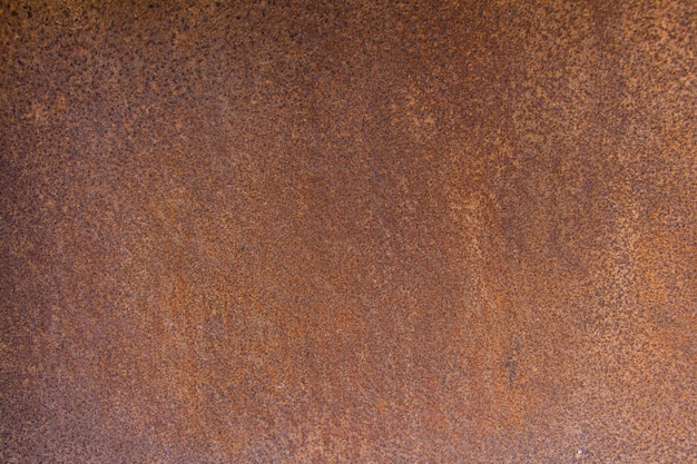 Brown metal background texture, metal steel vintage plate with some old scratch Premium Photo