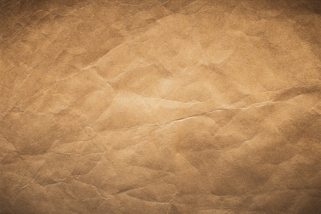 Brown old paper texture, vintage paper background. Premium Photo