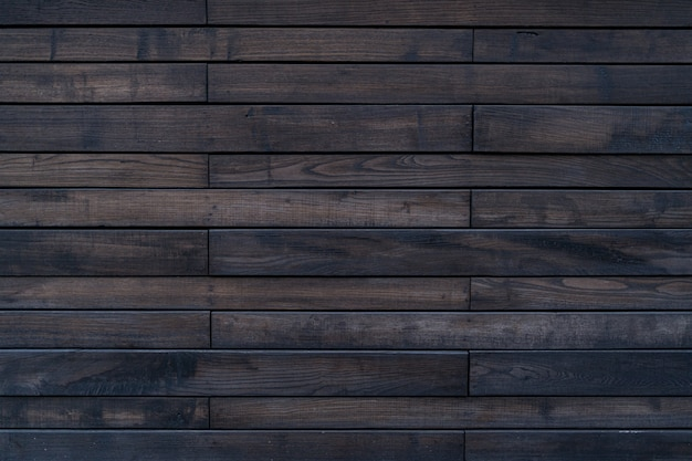 Brown painted wood texture of wood wall for background and texture. Free Photo