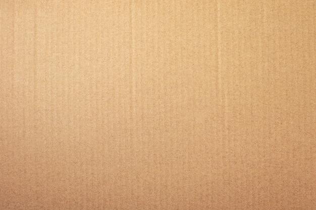 갈색 종이 질감 또는 골 판지 배경 프리미엄 사진