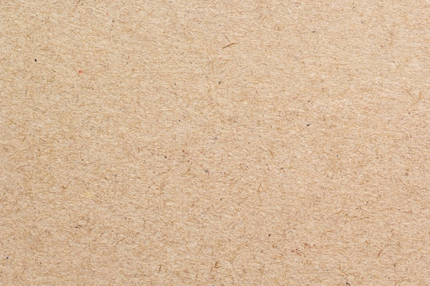 Brown recycled craft paper closeup texture Premium Photo