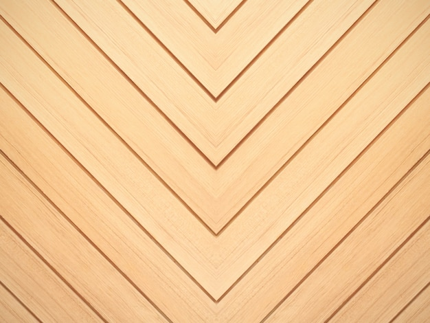 Brown wood background. chevron natural oak floor pattern texture. Premium Photo