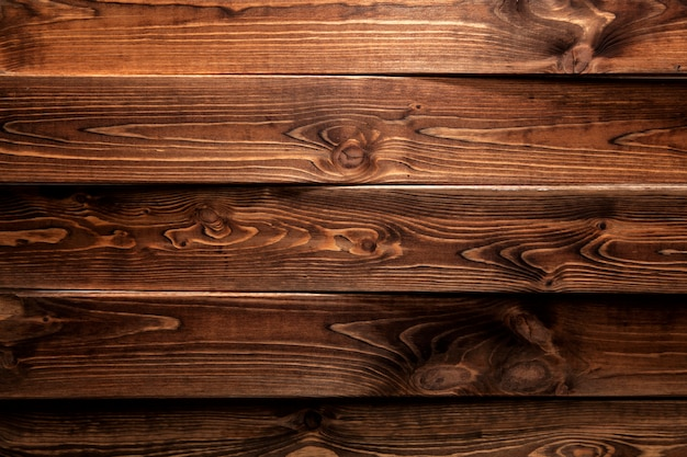 Brown wood background or texture Premium Photo