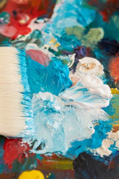 Кисть с раскраской палитры Бесплатные Фотографии