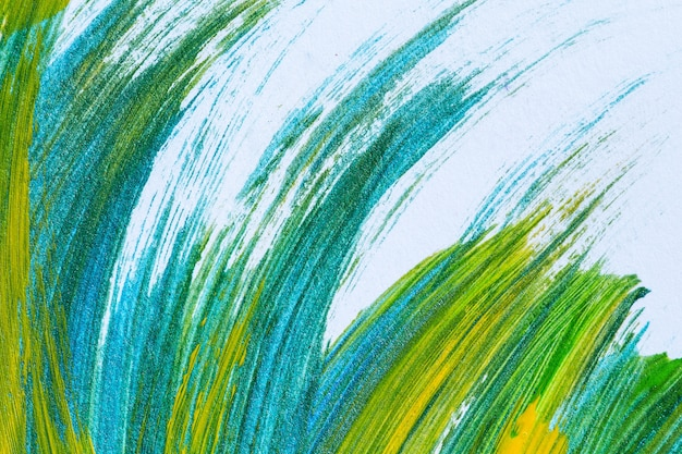 brushstrokes colorful acrylic paint on canvas color texture modern