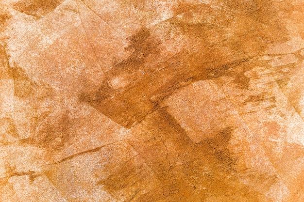 Brushstrokes of orange shades paint Free Photo