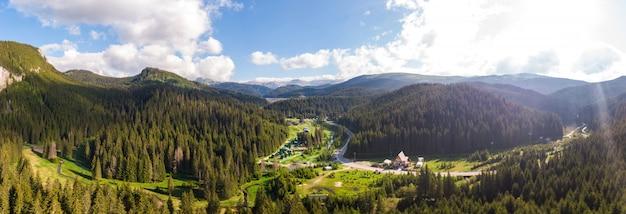 Bucegi mountains in romania Premium Photo