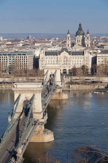 Budapest hungary in the city center Premium Photo