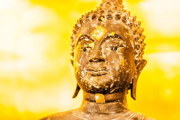 Buddha face Free Photo