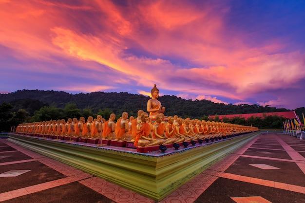 Buddha memorial park, nakornnayok thailand. Premium Photo