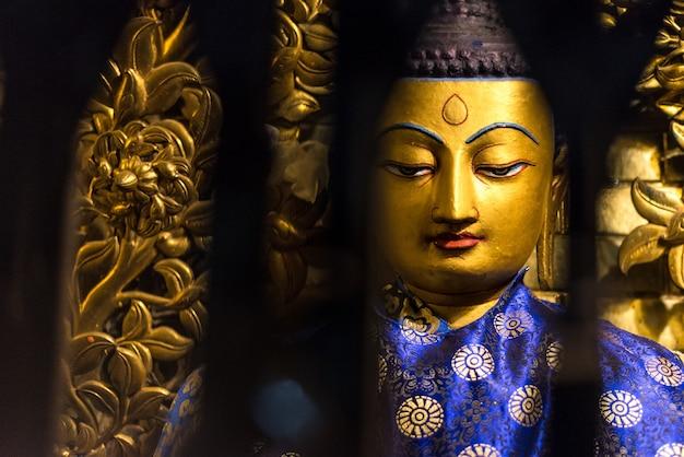 Buddhist temple katmandu nepal Premium Photo