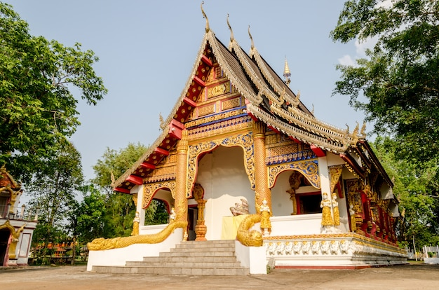 Buddist temple in thailand Premium Photo