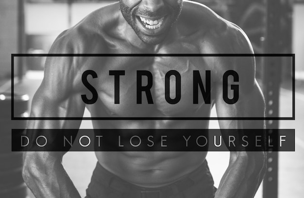 Build your own body strength fitness exercise get fit Free Photo