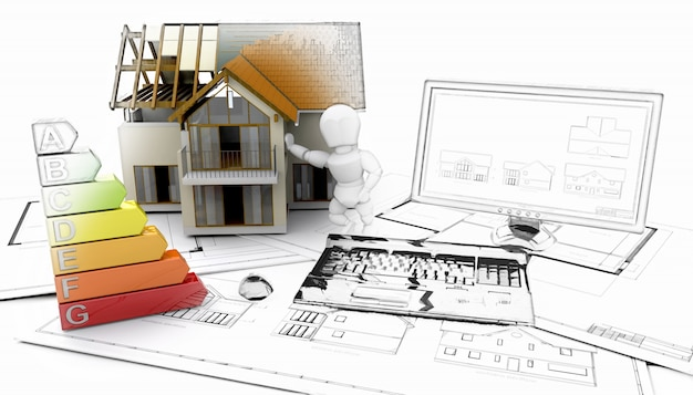 Building a house with digital tools photo free download for Home architecture tools