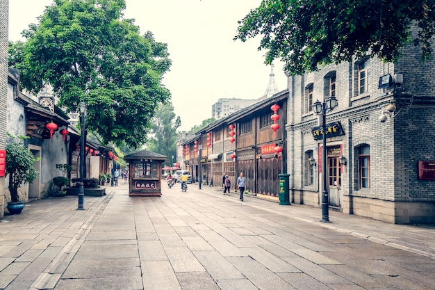 Building alley stone asian seven Free Photo