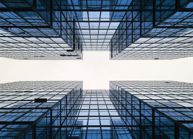 Building business city construction geometry Free Photo