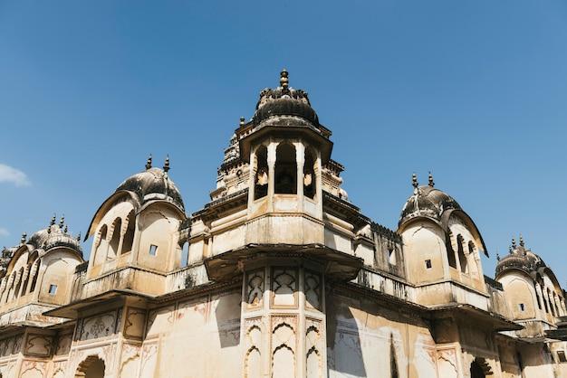 Buildings in pushkar town, rajasthan, india Free Photo