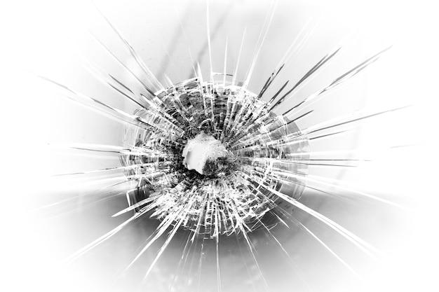 Bullet hole Premium Photo