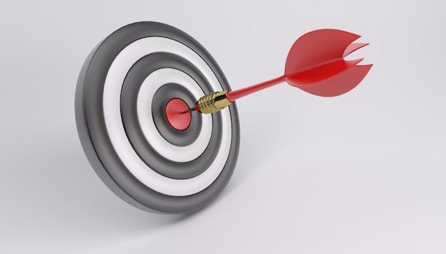 Bullseye with a dart Free Photo