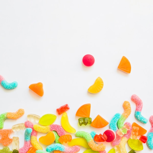 Bunch of candies Free Photo