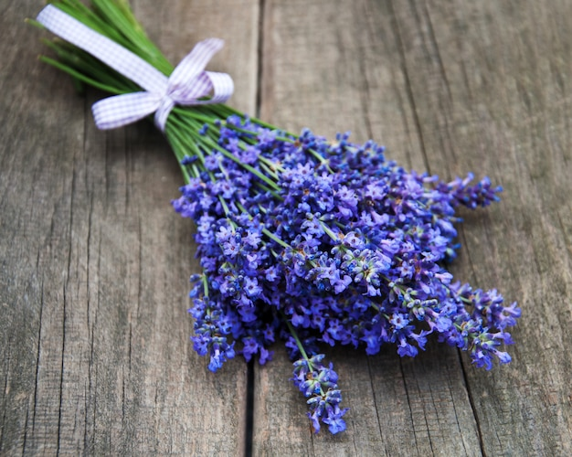 Bunch of lavender Premium Photo