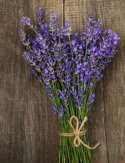 Bunch of lavender Premium Photo